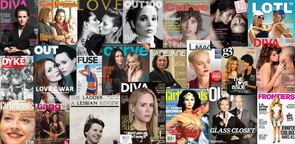 Leszbikus magazin
