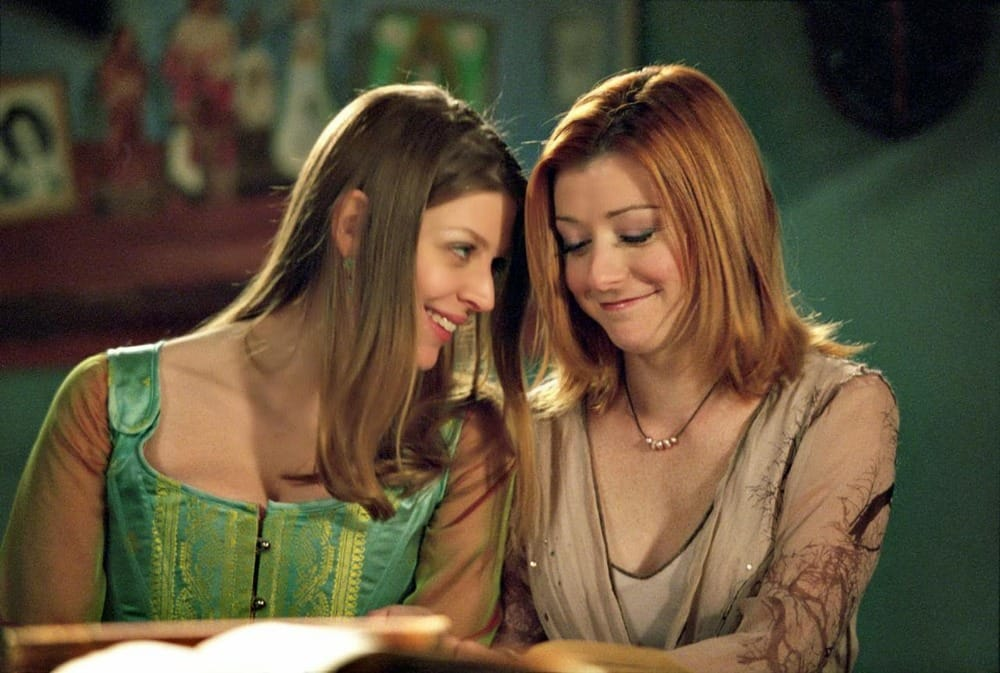 + Willow and Kennedy - Buffy the vampire slayer